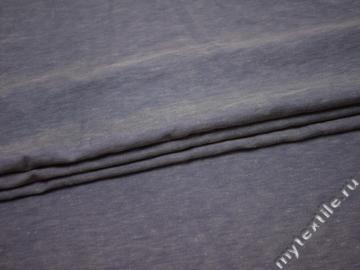 Костюмная синяя ткань хлопок ВБ335