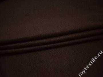 Флис коричневый полиэстер ДА527