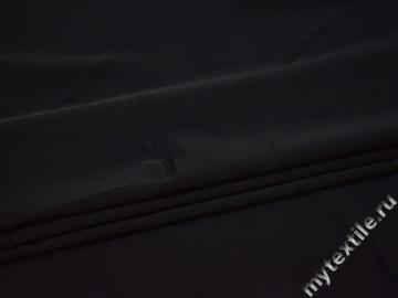 Костюмная черная ткань полиэстер с эластаном ВВ23