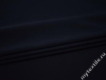 Костюмная синяя ткань полиэстер эластан ВВ26