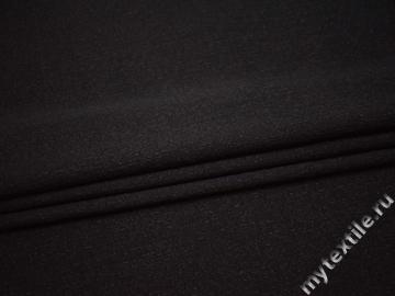 Костюмная черная ткань полиэстер В/В212