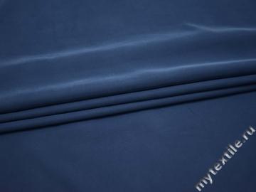 Костюмная синяя ткань вискоза полиэстер В/В221