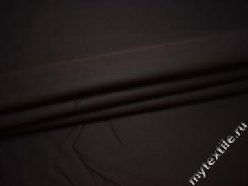 Костюмная коричневая ткань хлопок полиэстер В/В225