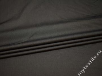Костюмная серая ткань вискоза шерсть ГД322