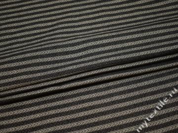 Костюмная серая ткань хлопок полиэстер ВВ445