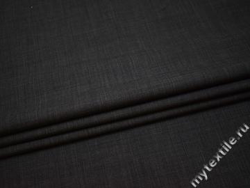 Костюмная серая ткань шерсть эластан полиэстер  ВВ561