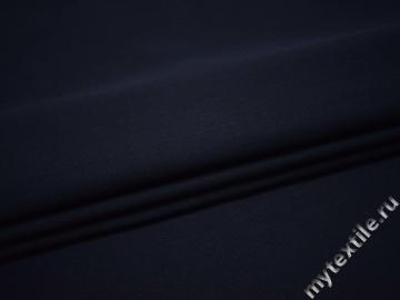 Костюмная синяя ткань хлопок ВГ15