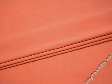 Костюмная персиковая ткань хлопок эластан ВГ115