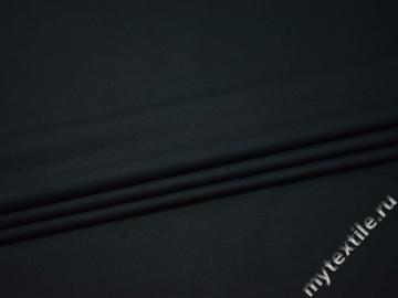 Костюмная синяя ткань вискоза полиэстер с эластаном ВГ123