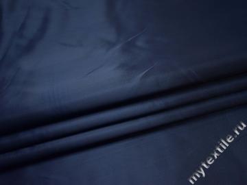 Костюмная синяя ткань полиэстер ВГ134
