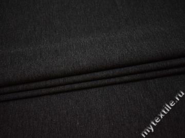 Костюмная серая ткань хлопок полиэстер эластан ВВ34