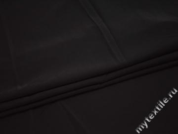 Костюмная черная ткань полиэстер эластан ВВ324
