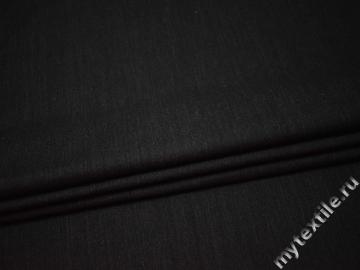 Костюмная серая ткань хлопок полиэстер  ВВ14