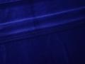 Бархат-стрейч синий полиэстер лайкра ГВ143