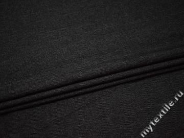 Костюмная серая ткань шерсть полиэстер ГД163
