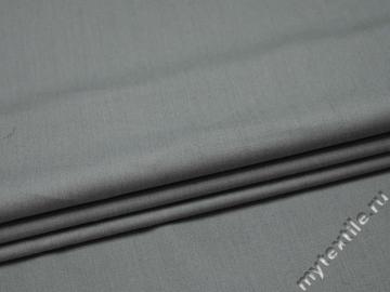 Костюмная серая ткань шерсть полиэстер ГЕ419