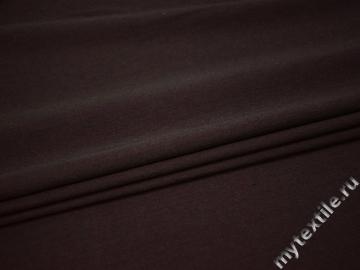 Костюмная бордовая ткань шерсть шёлк эластан ГЕ424