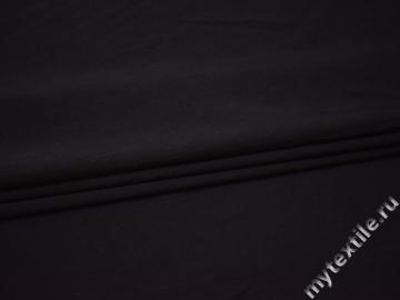 Костюмная синяя ткань шерсть шелк эластан  ГЕ434