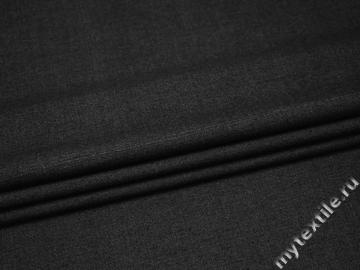 Костюмная серая ткань шерсть полиэстер эластан ГЕ442