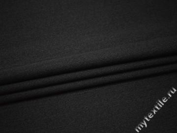 Костюмная серая ткань шерсть полиэстер эластан ГЕ444