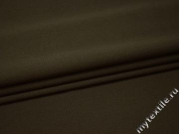 Костюмная зеленая ткань шерсть полиэстер ГЕ449