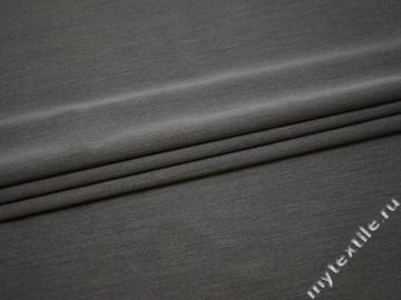 Костюмная серая ткань шерсть полиэстер ГД142
