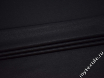Костюмная тёмно-синяя ткань вискоза полиэстер эластан  ГД141