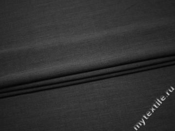 Костюмная серая ткань шерсть хлопок ГД146