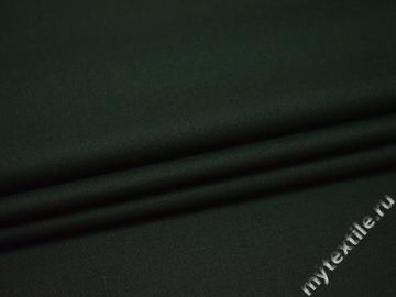 Костюмная зеленая ткань шерсть полиэстер ГД260