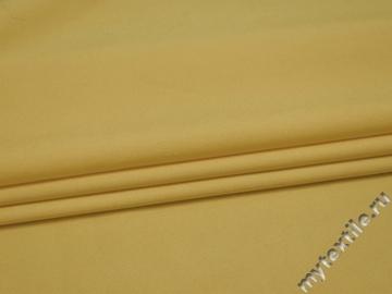 Костюмная лимонная ткань хлопок полиэстер эластан ВГ349