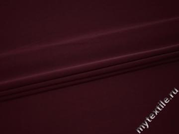 Костюмная бордовая ткань полиэстер ВГ416