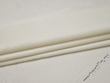 Костюмная молочная ткань вискоза полиэстер ВГ419