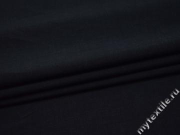 Костюмная синяя ткань полиэстер ВГ319
