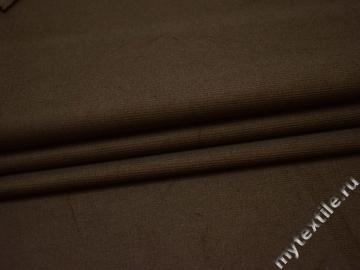 Костюмная цвета хаки ткань хлопок ВБ439