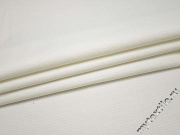 Костюмная  белая ткань хлопок ВГ435