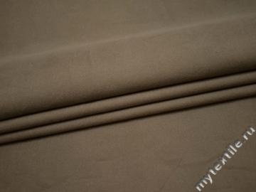 Костюмная бежевая ткань хлопок ВГ433