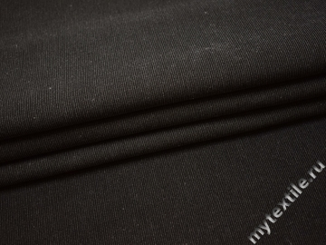 Костюмная серая ткань хлопок полиэстер эластан ВГ270