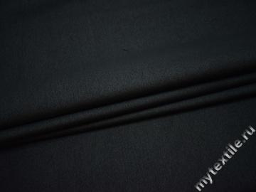 Костюмная темно-синяя ткань полиэстер эластан ВГ247