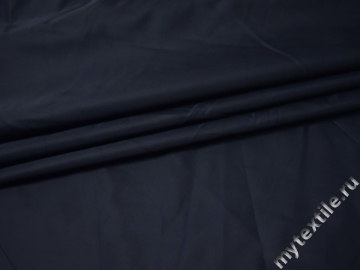 Курточная однотонная синяя ткань Б/Е1-103