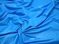 Курточная однотонная голубая ткань полиэстер Б/Е1-49