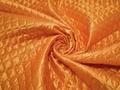 Подкладка стеганая оранжевая из полиэстера ДГ454