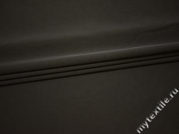 Костюмная серая ткань хлопок полиэстер эластан ВЕ535