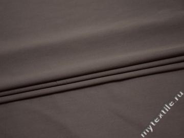 Костюмная серая ткань хлопок полиэстер эластан ВЕ541