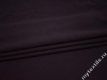 Костюмная фиолетовая ткань хлопок полиэстер эластан ВЕ548
