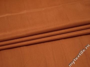 Костюмная оранжевая ткань полиэстер ВЕ558