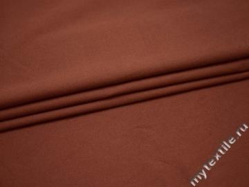 Костюмная кирпичная ткань хлопок ГВ144