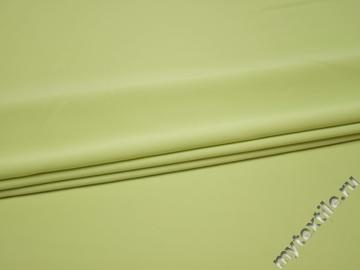 Костюмная салатовая ткань полиэстер ВЕ512