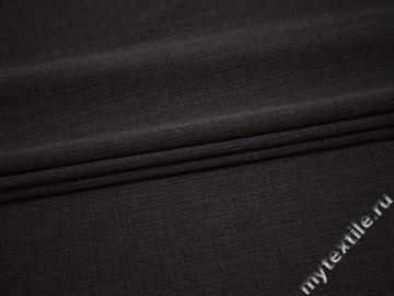 Костюмная серая ткань полиэстер эластан ВЕ515