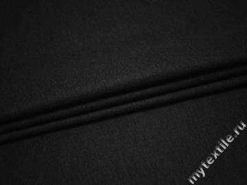 Костюмная тёмно-серая ткань хлопок ВД527