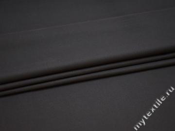Костюмная серая ткань хлопок полиэстер ВД510